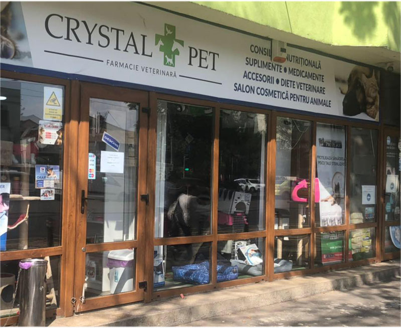 farmacie veterinara crystal vet